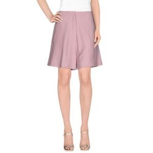 ACNE STUDIOS - High waisted Bermuda Shorts Pink, 6